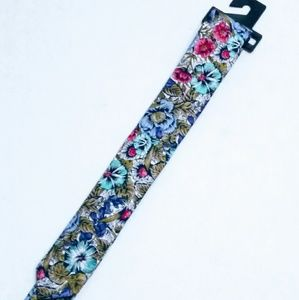 Express Factory Floral Print Tie